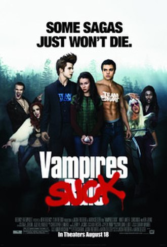 Vampires Suck - Theatrical release poster