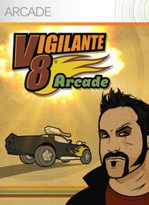Vigilante 8 Arcade - Xbox Live Arcade Cover art