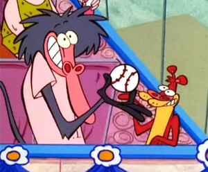 I Am Weasel - The central characters: I.R. Baboon (left) and I.M. Weasel (right).