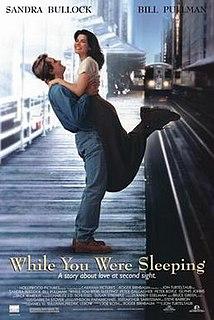 <i>While You Were Sleeping</i> (film) 1995 romantic comedy film directed by Jon Turteltaub
