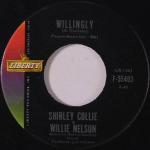 Willingly - Image: Willie Nelson and Shirley Collie Willingly