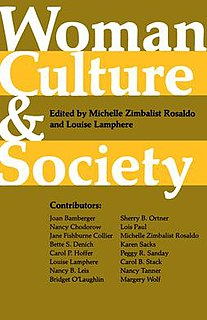 <i>Woman, Culture, and Society</i> book by Michelle Rosaldo