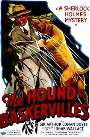 The Hound of the Baskervilles (1932 film) - U.S. poster