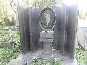 Anastasia Zuyeva (actress) - Grave of actress at Novodevichy Cemetery