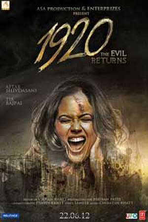 1920: The Evil Returns - Movie poster