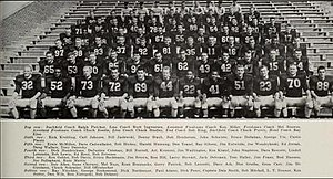 1957 Illinois Fighting Illini football team - Image: 1957 Illinois Fighting Illini football team