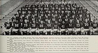 1957 Illinois Fighting Illini football team - Image: 1957 Illinois Fighting Illini football team