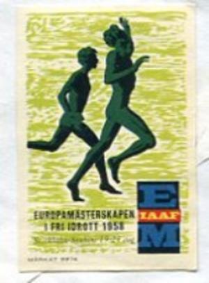 1958 European Athletics Championships - Image: 1958 European Athletics Championships logo