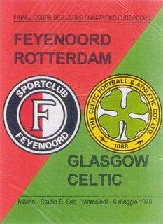 1970 European Cup Final Football match