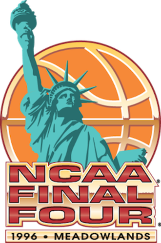 1996 NCAA Division I Men's Basketball Tournament - 1996 Final Four logo