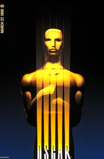 67th Academy Awards Award ceremony presented by the Academy of Motion Picture Arts & Sciences for achievement in filmmaking in 1994