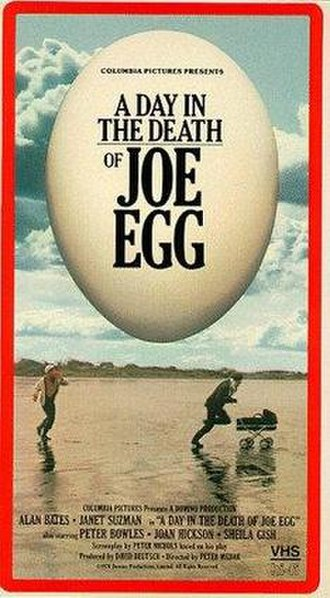 A Day in the Death of Joe Egg (film) - VHS cover