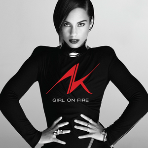 Girl on Fire (album) - Image: Alicia Keys Girl on Fire