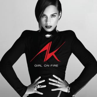 Girl on Fire (album) - Image: Alicia Keys Girl on Fire