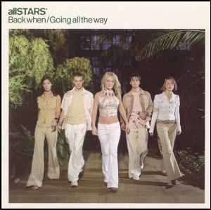 Back When / Going All The Way - Image: All STARS* Back When single cover