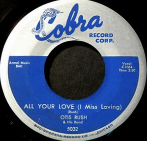 All Your Love (I Miss Loving) - Image: All Your Love single cover