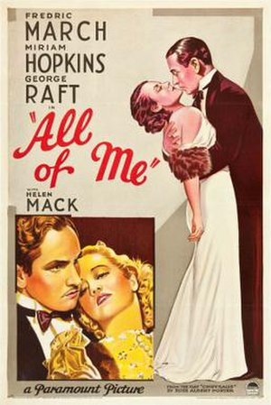 All of Me (1934 film) - Image: All of Me Film Poster
