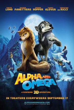 Alpha and Omega (film) - Theatrical release poster