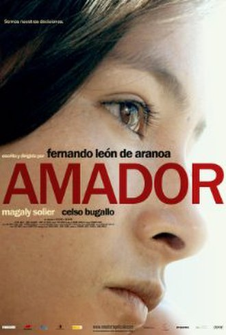 Amador (film) - Image: Amador (movie poster)