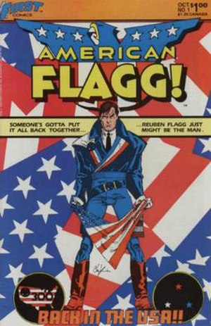 American Flagg! - Image: American Flagg no 1 300px