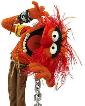 Dr. Teeth and The Electric Mayhem - Animal, the band's drummer.