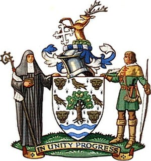 London Borough of Redbridge - Image: Arms redbridge