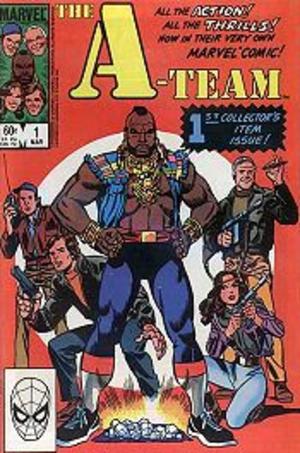 The A-Team (comics) - Image: Ateam Marvel
