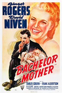 <i>Bachelor Mother</i> 1939 film by Garson Kanin
