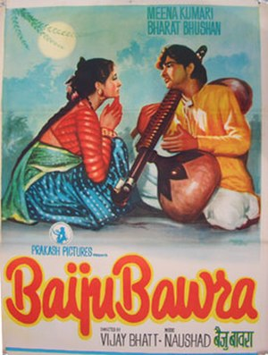 Baiju Bawra (film) - Theatrical release poster