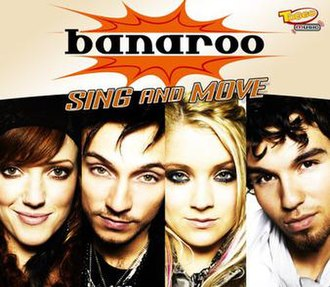 Sing and Move (La La La Laaaa) - Image: Banaroo sing and move s