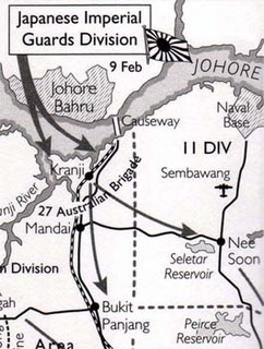 Battle of Kranji Battle by Japans invasion of Singapore during the Second World War