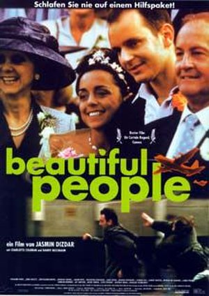 Beautiful People (film) - Dutch theatrical release poster