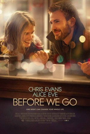 Before We Go - Theatrical release poster