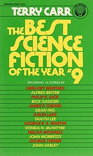 <i>The Best Science Fiction of the Year 9</i> book by Terry Carr