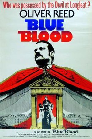 Blue Blood (1973 film) - Theatrical release poster
