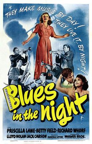 Blues in the Night (film) - Theatrical release poster