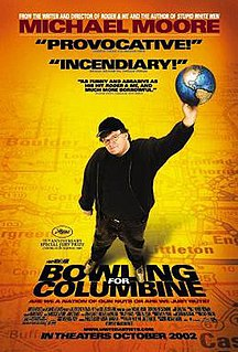 <i>Bowling for Columbine</i> 2002 documentary film by Michael Moore
