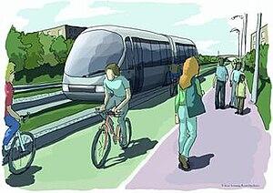 Bristol Supertram - Image: Bristol BRT
