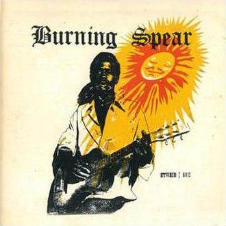 Studio One Presents Burning Spear - Image: Burning Spear Studio One Presents