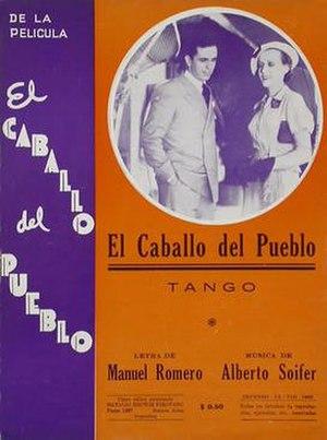 The Favorite (1935 film) - Image: Caballodelpueblopost er