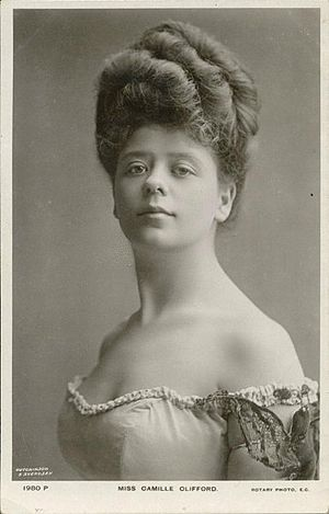 Camille Clifford - Camille Clifford, the quintessential Gibson Girl.