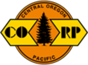 Central Oregon and Pacific Railroad - Image: Central Oregon and Pacific Railroad