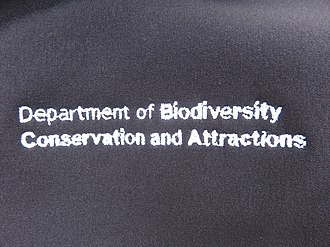 Department of Biodiversity, Conservation and Attractions (Western Australia) - Image: Chest logo DBCA X 2018