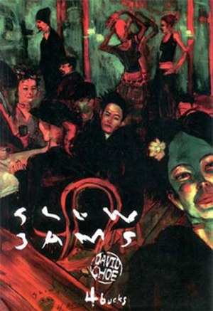 David Choe - Cover of Slow Jams by David Choe, after Henri de Toulouse-Lautrec's At the Moulin Rouge