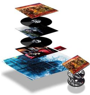 Storm Corrosion (album) - Image: Complete set of Storm Corrosion limited edition