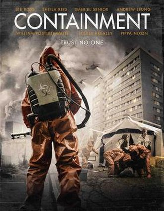 Containment (film) - Theatrical release poster for Containment