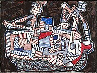 Courre Merlan (Whiting Chase), Dubuffet.jpg