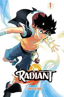 <i>Radiant</i> (manfra) French manga and anime series