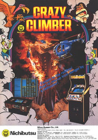 Crazy Climber - Arcade flyer
