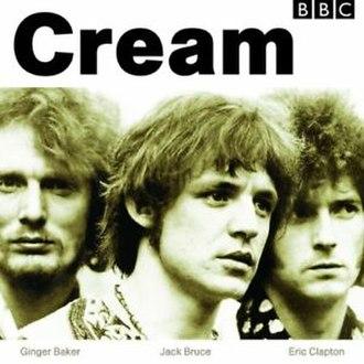 BBC Sessions (Cream album) - Image: Cream BBC Sessions Album Cover